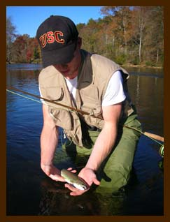 Fly fishing instruction in the mountains for Fly fishing north georgia